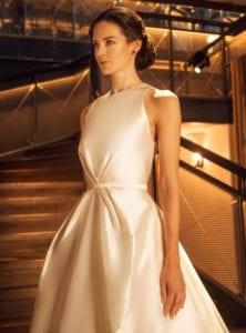 modern princess wedding dress shot 1