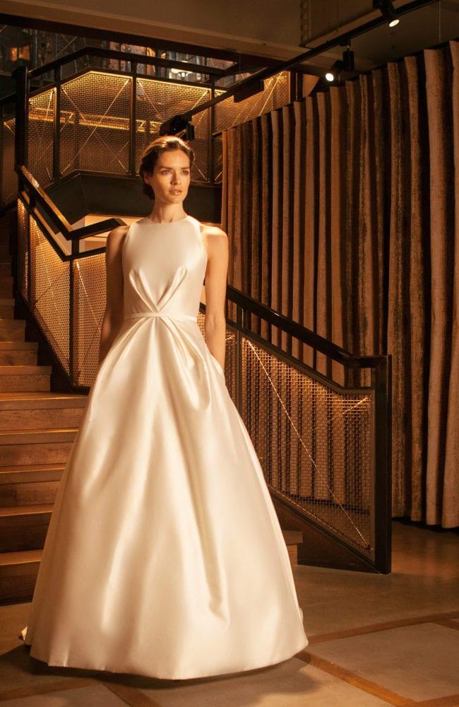 modern princess wedding dress shot 2