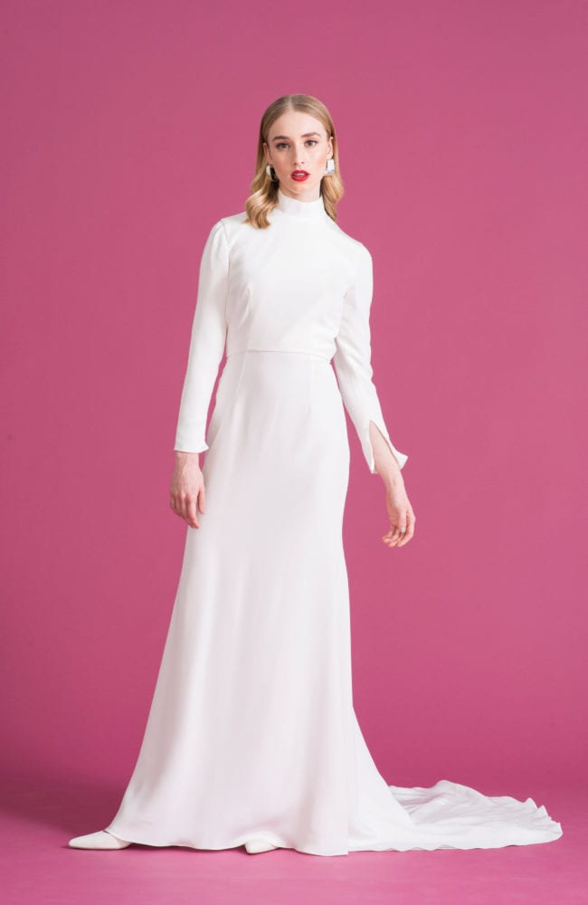 High Neck Wedding Dress UK | High Neck