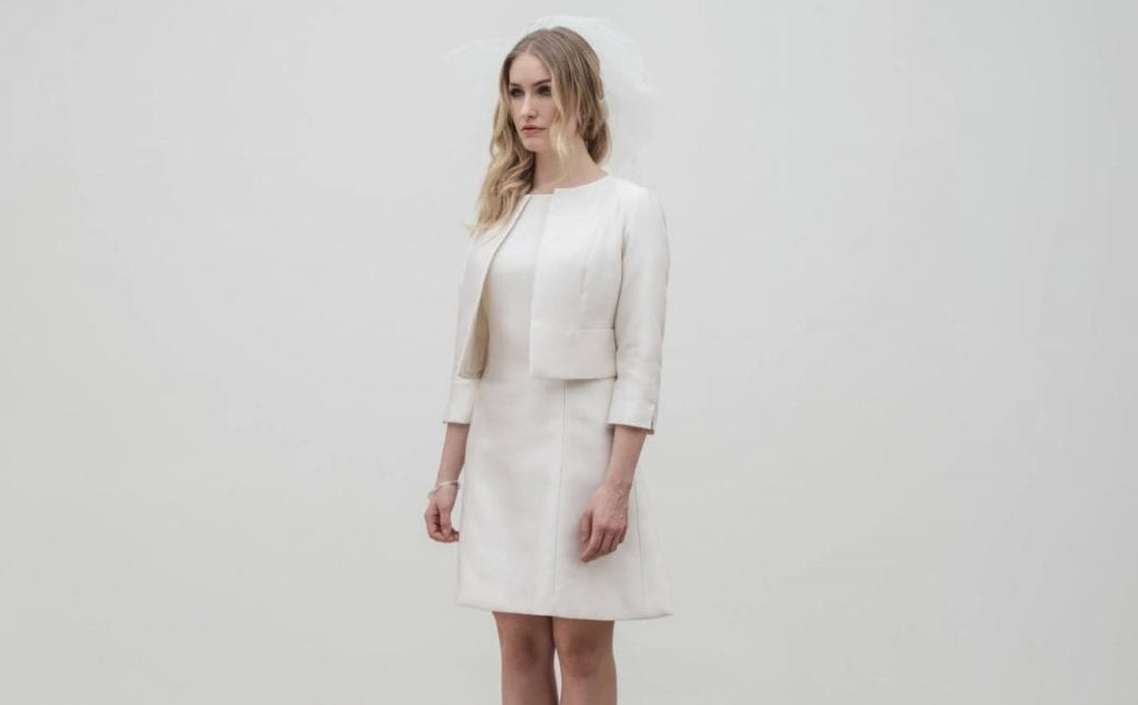 wedding suit dress and jacket