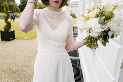 andrea bride in dress