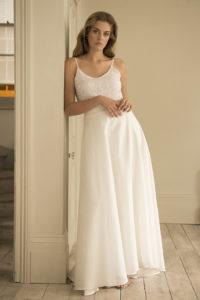 bridal separates skirt and top