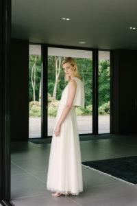bridal separates wedding skirt and top