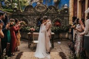 An Indian wedding venue