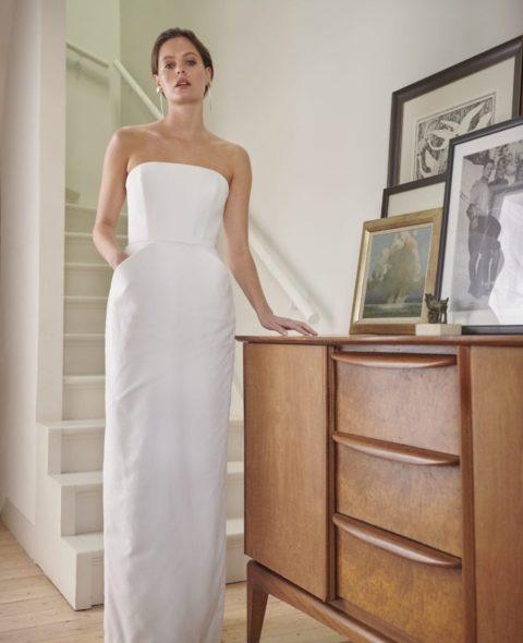 cotton wedding dress