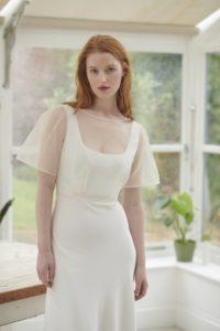 simple elegant wedding dresses with sleeves