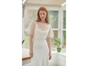 simplistic Wedding dress designer