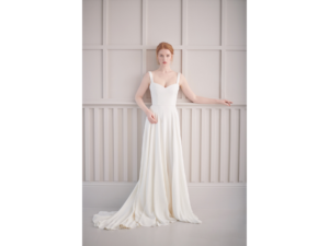classic corset wedding dress