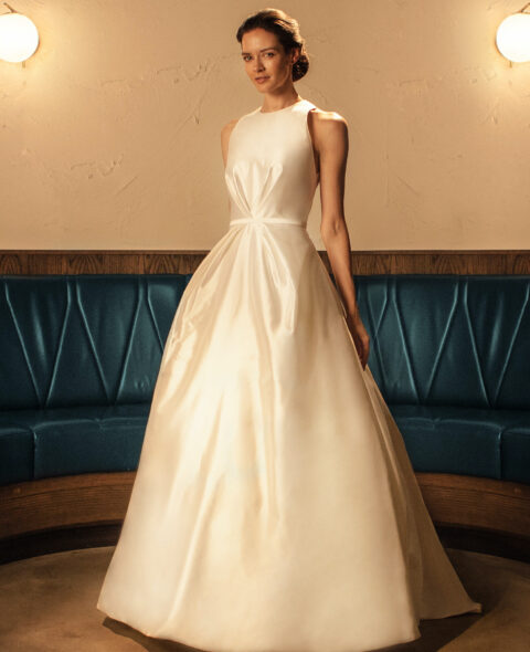 wedding dress with pockets