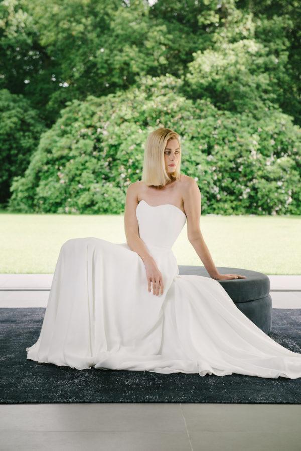 Corset wedding dress made to measure