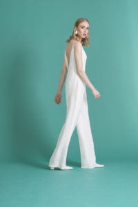 wedding day jump suit