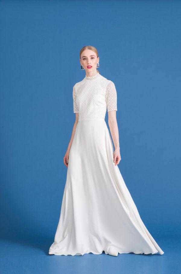 French lace wedding dress