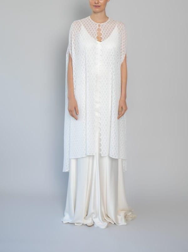 wedding dress capes lace