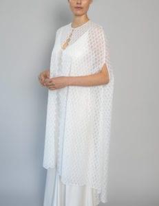 top lace wedding dress cape