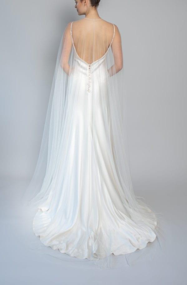modern wedding veil