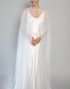 white wedding top