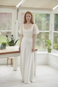 bias cut wedding dress