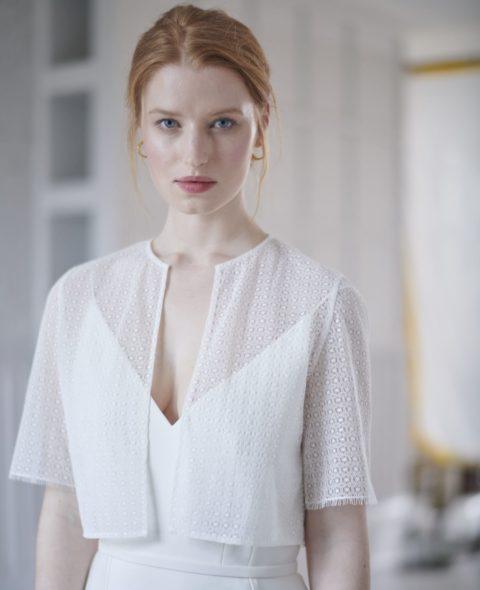t-shirt sleeve wedding dress