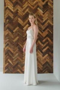 bias cut wedding dress