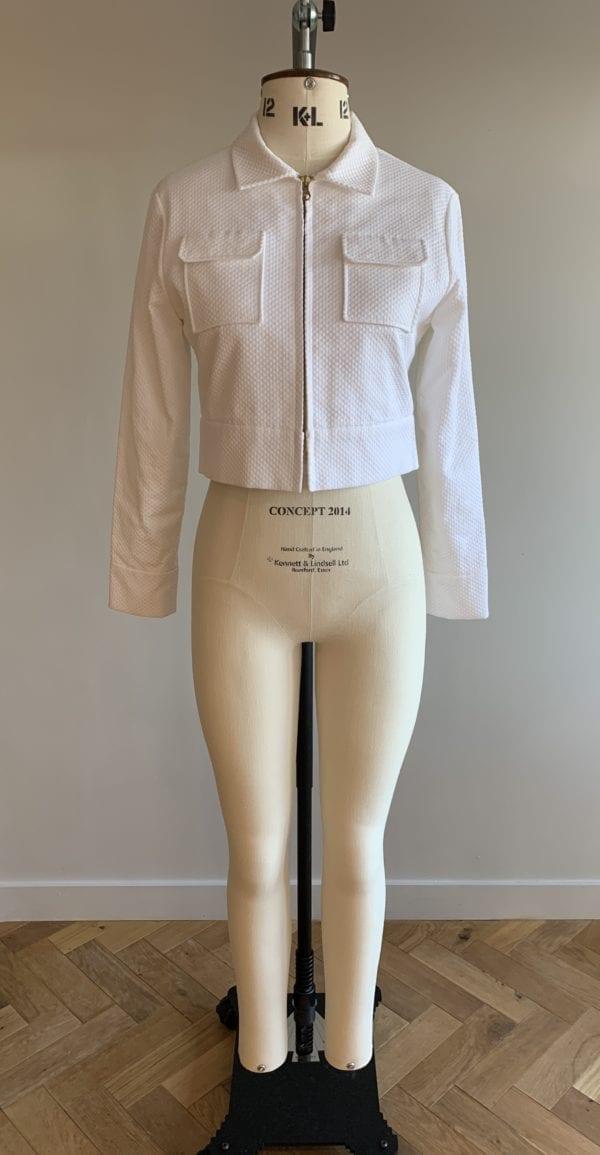 bridal separates jacket top