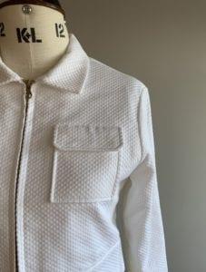 bridal wear separates jacket top