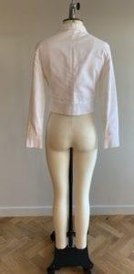 Wedding dress separates jacket top