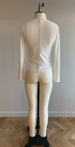 bridesmaid separates long sleeve jersey top