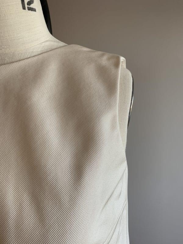 loose top wedding dress