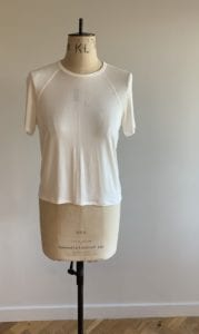 ivory top for wedding guest