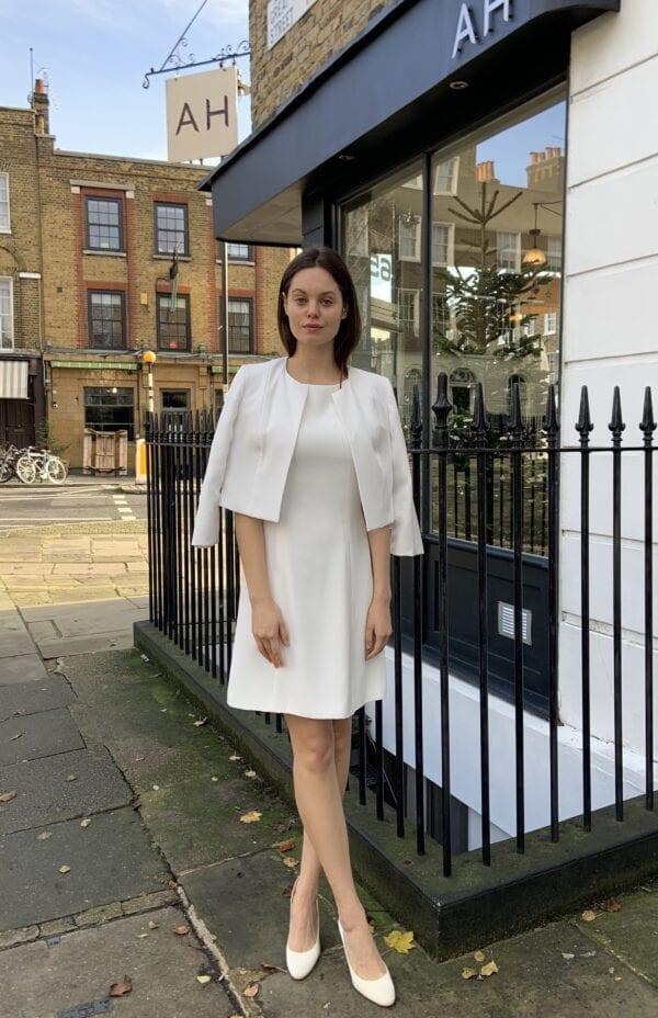 wedding dress jacket