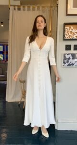 short wedding dress for civil ceremony