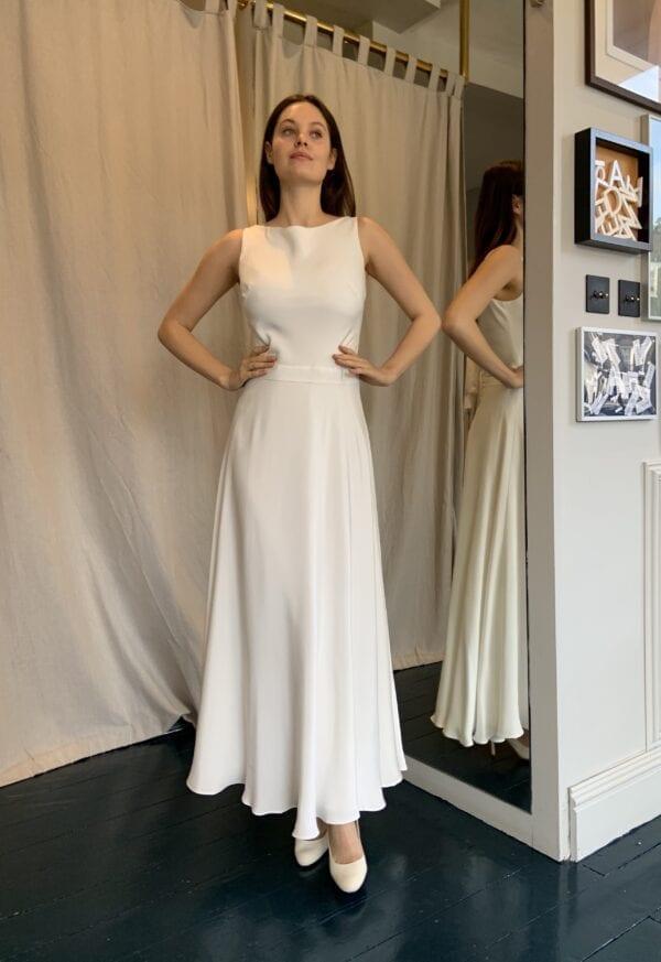 short wedding dress for civil wedding