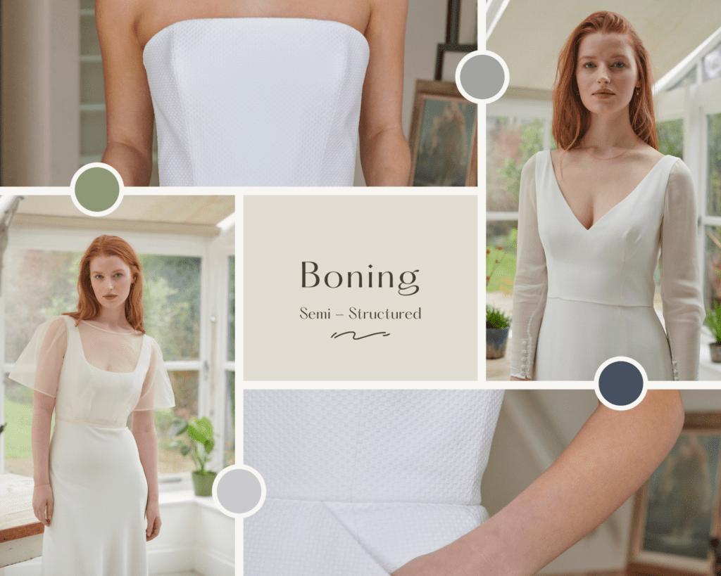 structured wedding dresses