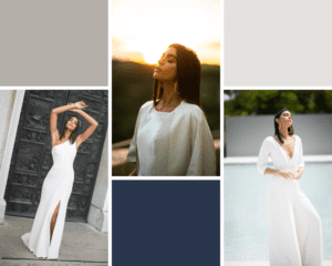 modern wedding dresses and jumpsuits