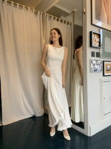 short civil ceremony wedding dress