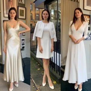 modern short wedding dresses
