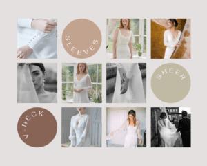 modern minimal wedding dresses