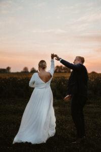 sequinned plus size wedding dress