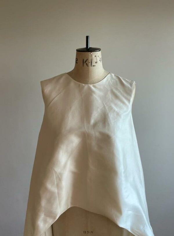 simple bridal cape