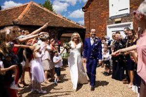Plus size bridal dress