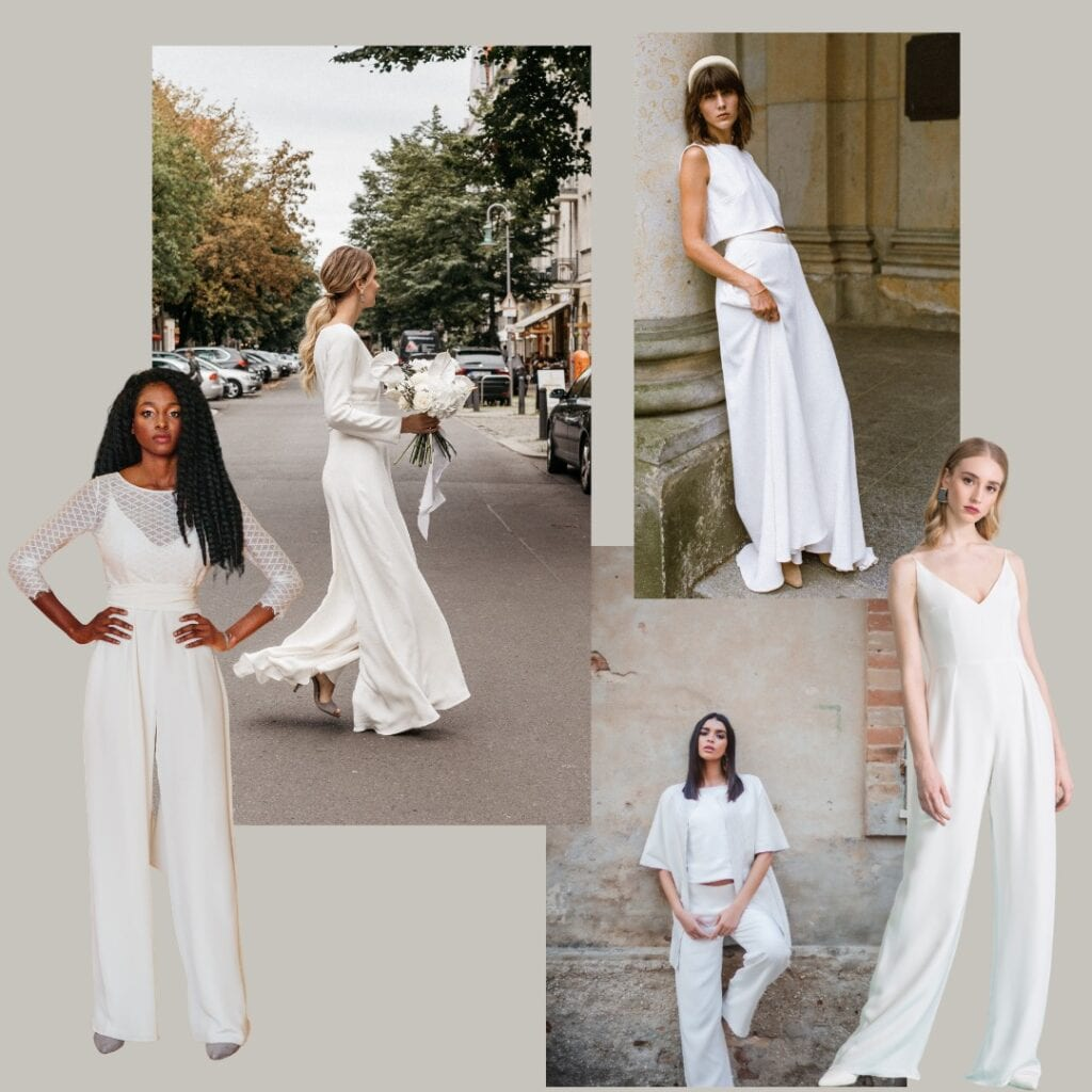 bridal jumpsuits and bridal separates
