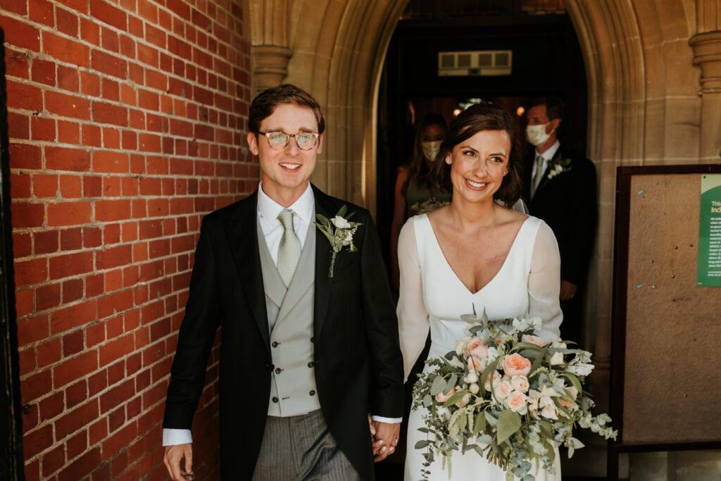v neck wedding dress with sleeves
